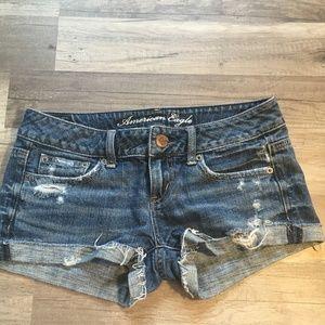 American Eagle Jean Shorts (size 00)